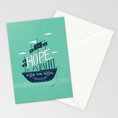 1/52: Hope As An Anchor  Stationery Cards