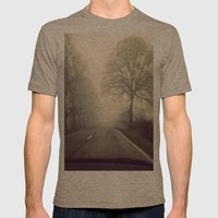 yesterday Mens Fitted Tee Tri-Coffee SMALL