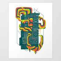 Magic Stereo Art Print