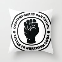 Contemporary R&B Sucks Throw Pillow