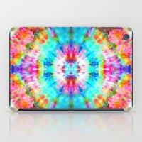 Rainbow Sunburst iPad Case