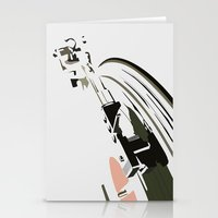 VINYL TURNTABLES Stationery Cards