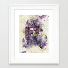 G1 - Optimus Prime Framed Art Print