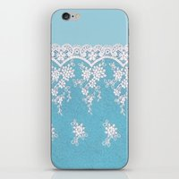 Love of Turquoise #lace iPhone & iPod Skin