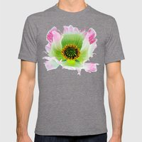 Papaver Somniferum Mens Fitted Tee Tri-Grey SMALL
