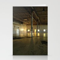 Factory Floor Stationery Cards