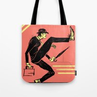 Silly Walk Tote Bag