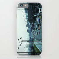 Streets, cars and people. iPhone 6 Slim Case