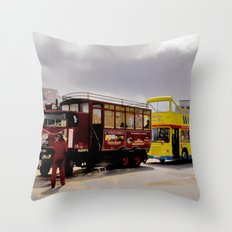 Vintage or Modern Throw Pillow