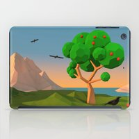 The apple tree iPad Case
