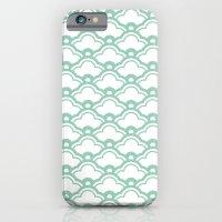 matsukata in grayed jade iPhone 6 Slim Case