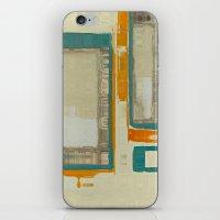 Mid Century Modern Abstr… iPhone & iPod Skin
