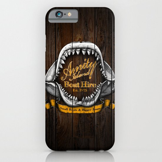 Amity Island Boat Hire iPhone & iPod Case