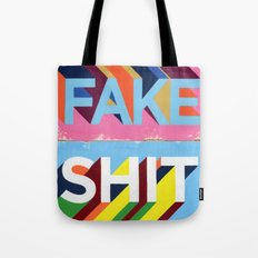 FAKE SHIT Tote Bag