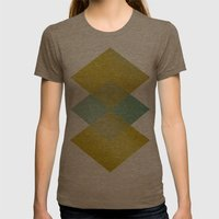 Remember Summer Womens Fitted Tee Tri-Coffee SMALL