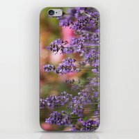 Lavender Flowers iPhone & iPod Skin