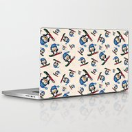 Too Cool To Penguin Laptop & iPad Skin
