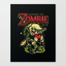 Legend of Zombie Canvas Print