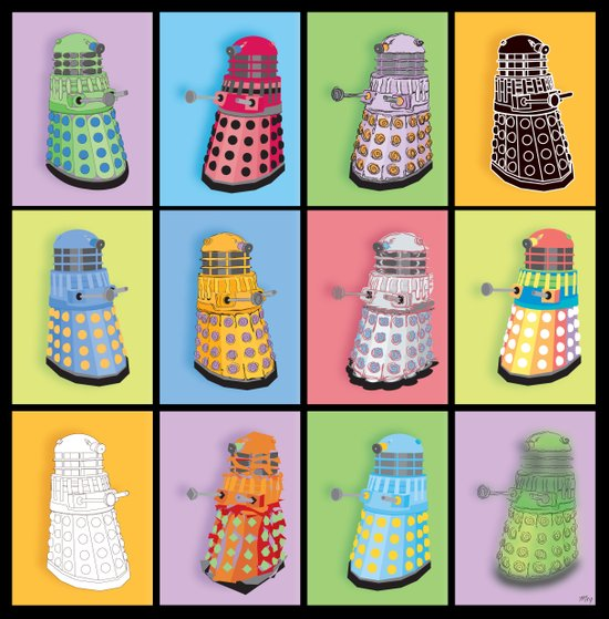 Dalek Dreams Canvas Print