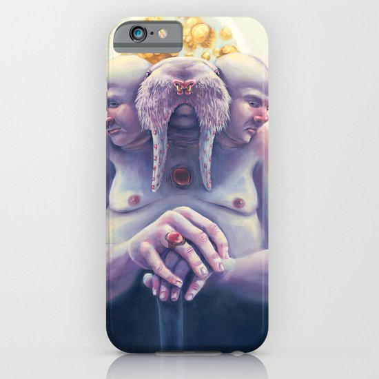 High Society Walrus iPhone & iPod Case