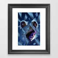 Issue 05 Cover Framed Art Print