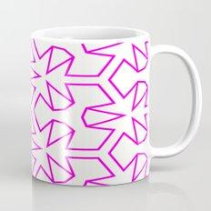 Van Zwaben Pink Neon Pattern Mug