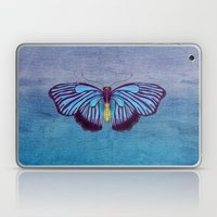 Butterflies and Burlap Laptop & iPad Skin