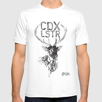 CDX LSTR #04 Mens Fitted Tee White SMALL