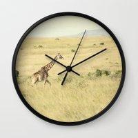 journey::kenya Wall Clock