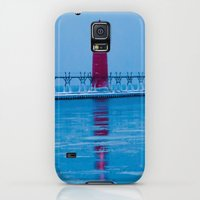 Galaxy S5 Cases featuring Keeping Watch by Lia Bedell