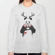 Xmas Panda Long Sleeve T-shirt