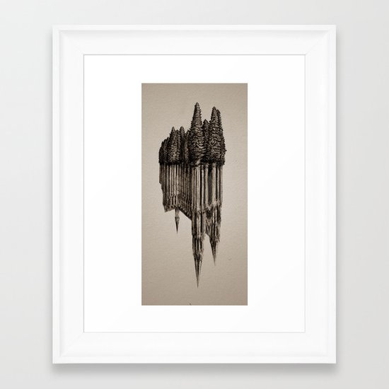 Gothic Revival Framed Art Print