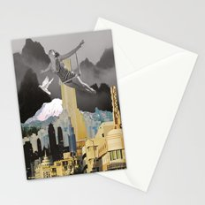 Trapeze Artist Dreams Stationery Cards