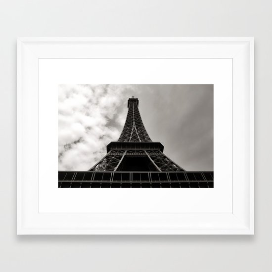 The Tower Framed Art Print