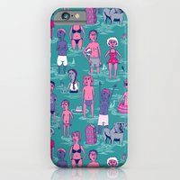iPhone Cases featuring Seafarers by Valeriya Volkova