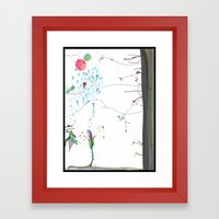 Secret Place Number 552 Framed Art Print