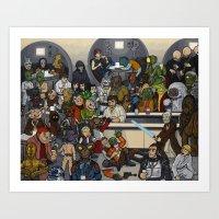 The Mos Eisley Cantina Art Print