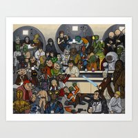 The Mos Eisley Cantina Art Print