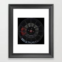 500 Abarth Wheel Framed Art Print