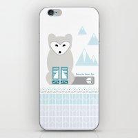 Kettu the Arctic Fox iPhone & iPod Skin