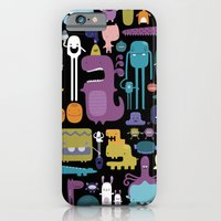 iPhone & iPod Case featuring MONSTERS by Piktorama