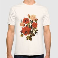 Lost In Fame Mens Fitted Tee Natural SMALL