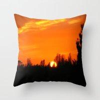 Sky (4) Throw Pillow