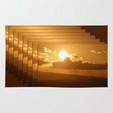 Hawaiian Sunrise Rug