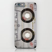 iPhone Cases featuring Cassette Transparent by Diego Tirigall