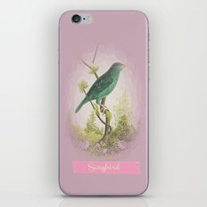 Songbird {dusky lilac} iPhone & iPod Skin