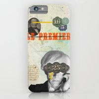 iPhone & iPod Case featuring Public Figures - Andy Warhol by Elo Marc