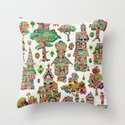 Crystal Hamlet Throw Pillow