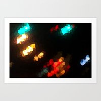 Glass Resolution Art Print