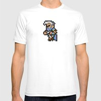 Final Fantasy II - Edge Mens Fitted Tee White SMALL
